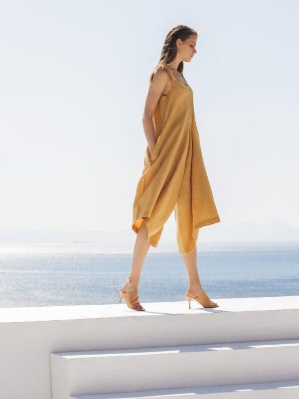 Linen jumpsuit (8164)