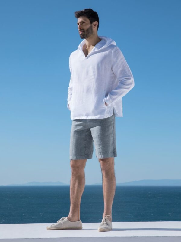 Linen bermuda shorts (4194)