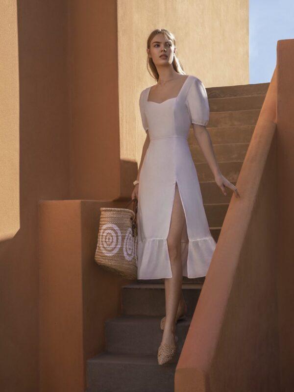 Φόρεμα με μανικάκι (FY27114)