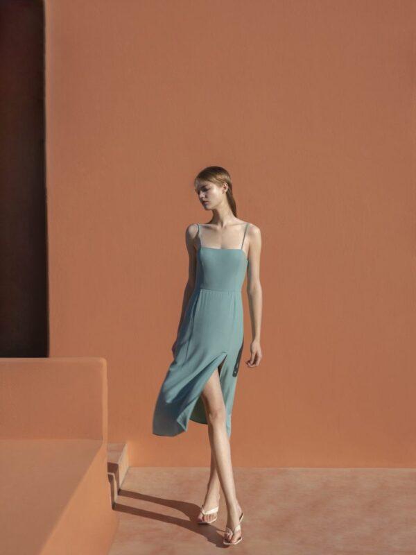 Φόρεμα τιραντάκι (FY28112)