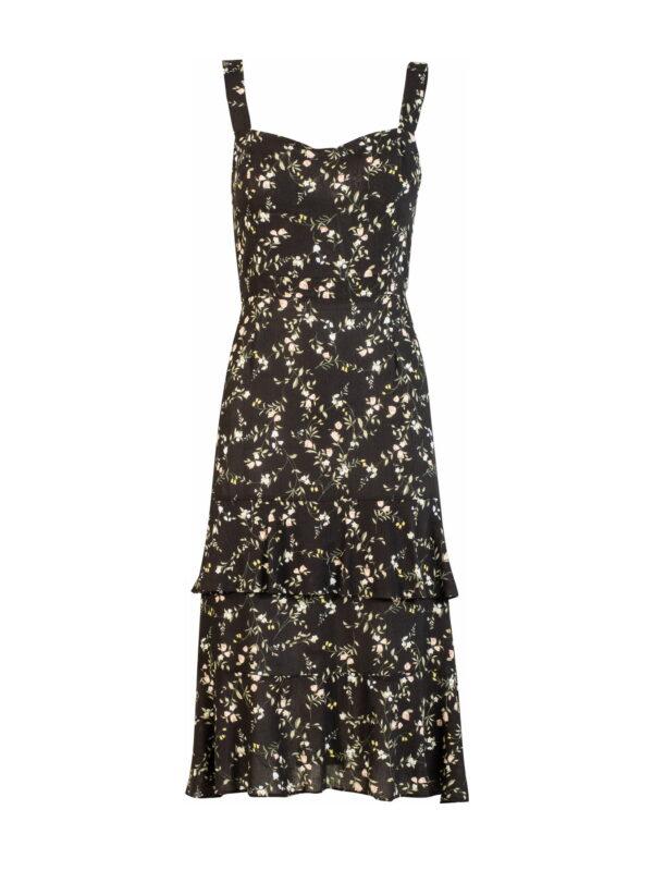 Φόρεμα μίντι με βολάν (FY51116B)