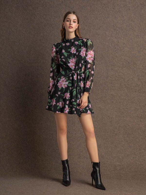 Kimberly chiffon dress